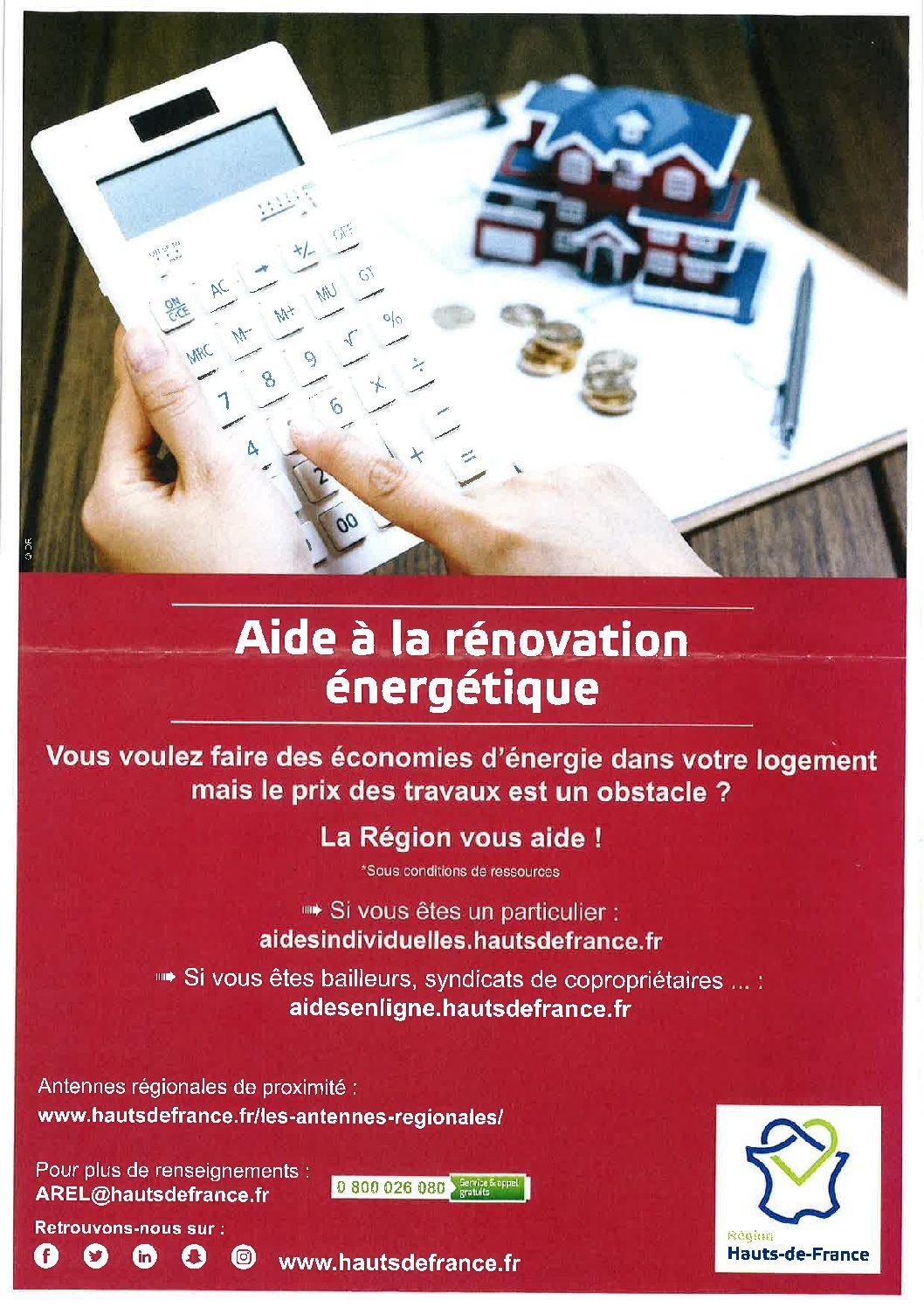 Aide à la rénovation énergétique