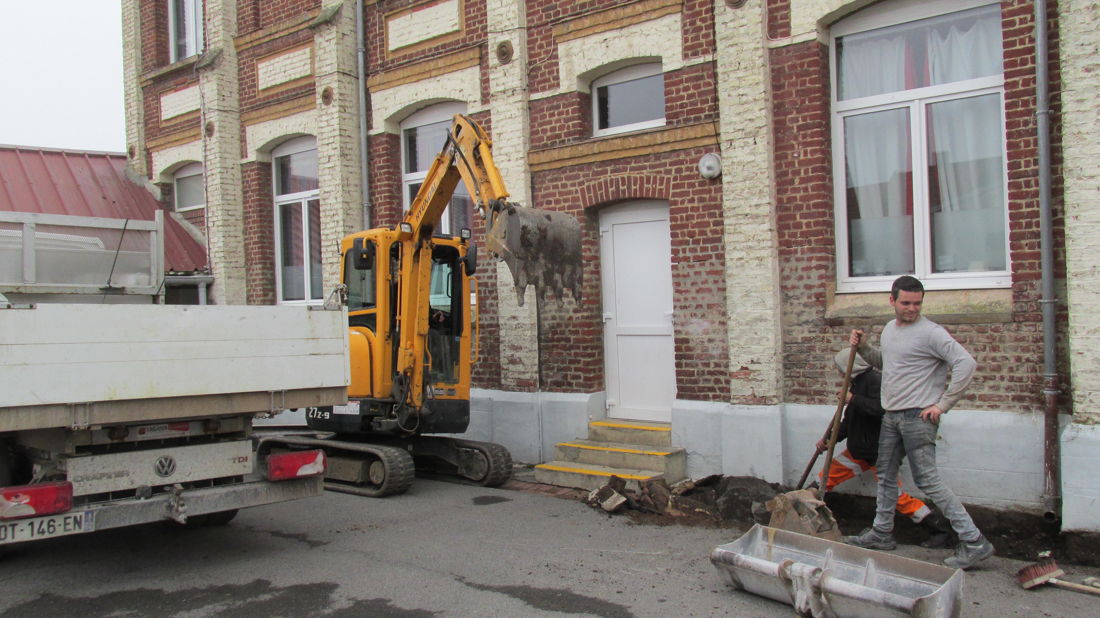 Rénovation de la Cour d'école Roger Salengro IMG 3894