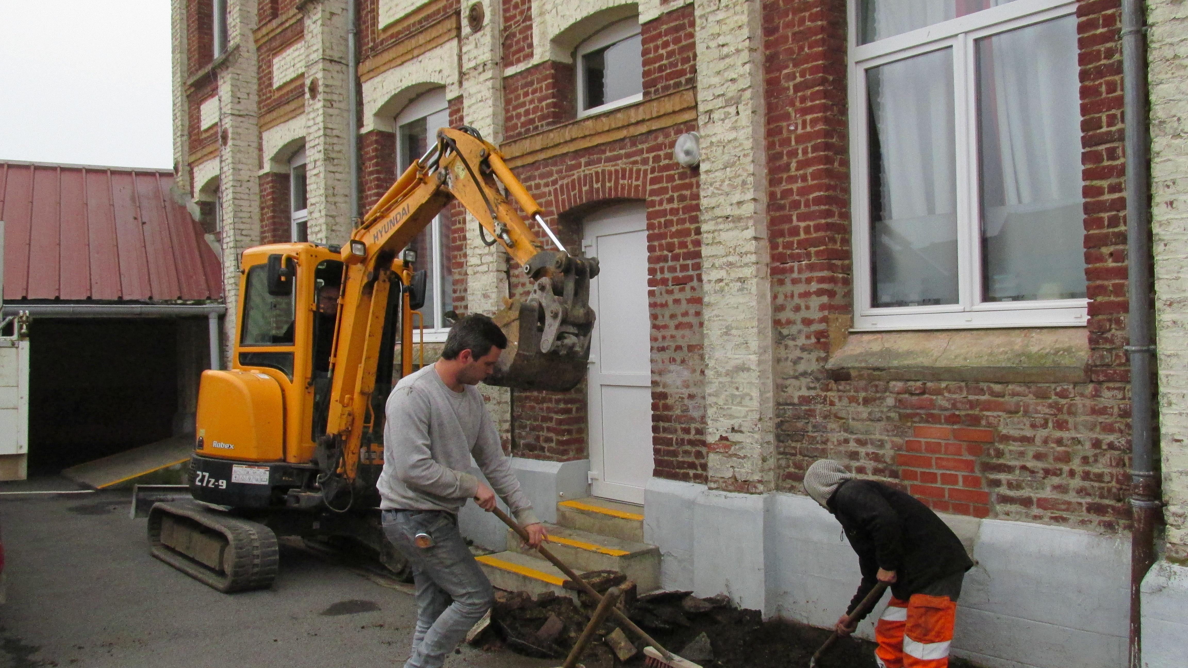 Rénovation de la Cour d'école Roger Salengro IMG 3897