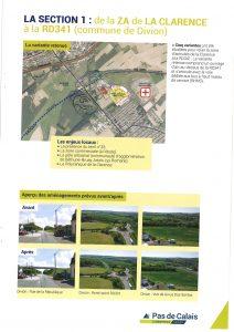 Suite à la réunion publique d'information pour la RD 941 Déviation DIVION/OURTON Deviation Divion Ourton Page 3