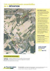 Suite à la réunion publique d'information pour la RD 941 Déviation DIVION/OURTON Deviation Divion Ourton Page 6