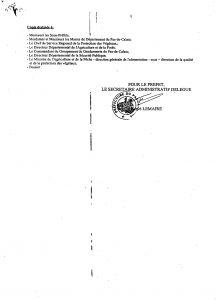 RAPPEL L'ÉCHARDONNAGE EST OBLIGATOIRE Echardonnage arr  t   du 11 juin 2001 3