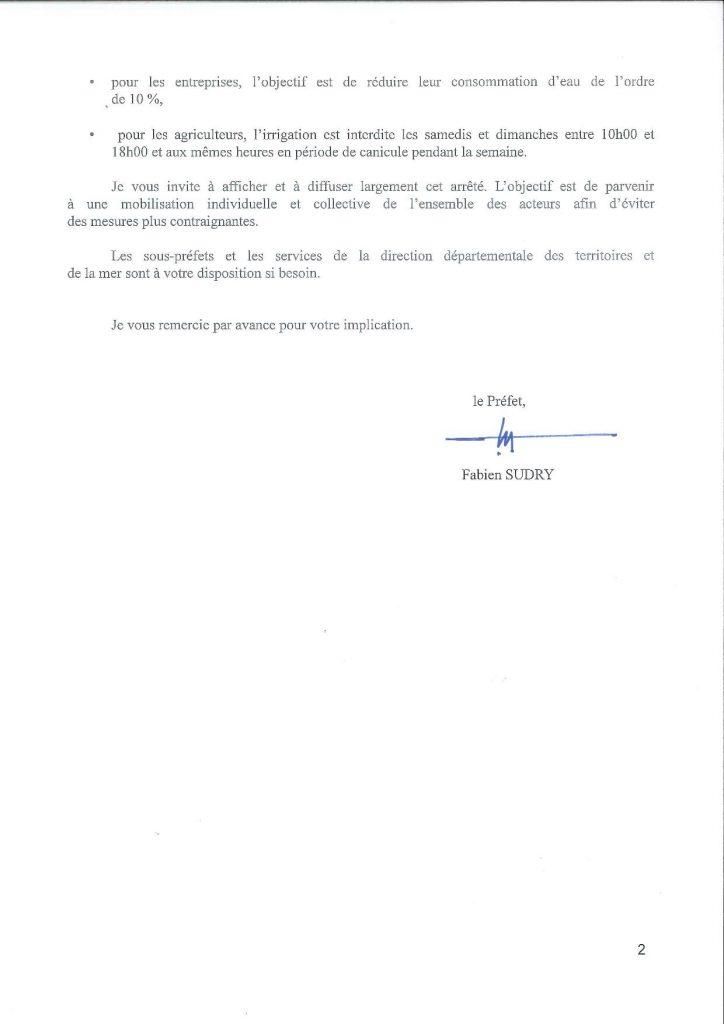Alerte Sécheresse dans le Pas de Calais SECHERESSE 002 page 002