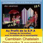 BERDOUF – La Compagnie L'Art cht'i Show sur la route