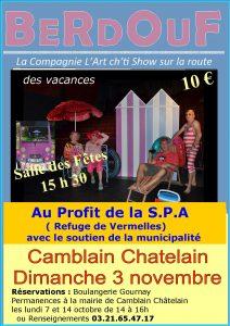 BERDOUF - La Compagnie L'Art cht'i Show sur la route Camblain Chatelain