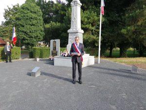 Commémoration de la catastrophe de la Clarence et défilé en souvenir du Pas de Calais Libéré. IMG 20190901 095903