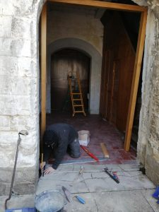 De nouvelles portes à l'église Saint-Vaast image00000181