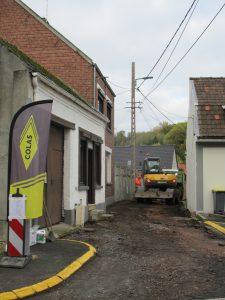 Début des travaux - Aménagement de Voiries et Trottoirs Rue Potier 2