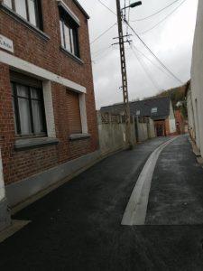TRAVAUX VOIRIES - RUE LOUIS POTIER rue Louis Potier 4