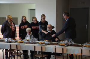 Inauguration de la cuisine à la salle Emile Saillot 4 d  cembre 2019 inauguration cuisine 44