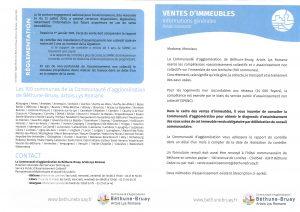 VENTES D'IMMEUBLES - INFORMATIONS GÉNÉRALES - ASSAINISSEMENT ventes immeubles assainissement 1