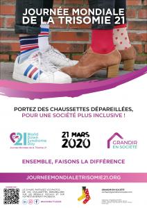 A vos chaussettes Affiche JT21 2020 Ge  ne  rique