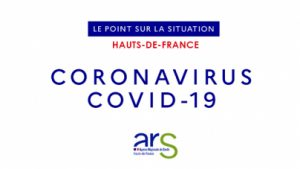 Coronavirus Covid-19 - Point de situation dans les Hauts-de-France Card CORONAVIRUS point de situation