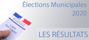 Résultats Élections Municipales du 15 Mars 2020 Resultats munipales 2020
