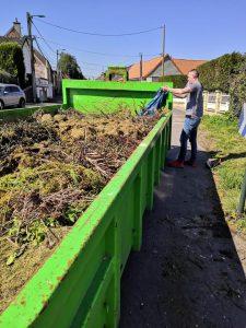 Retour sur la 1ère journée de dépôt volontaire des déchets verts herbe 4