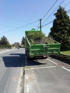 Retour sur la 1ère journée de dépôt volontaire des déchets verts herbe fini