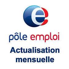 ACTUALISATION POLE EMPLOI AVRIL 2020 pole emploi actualisation