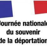 Dimanche 26 avril journée nationale du souvenir et de la déportation