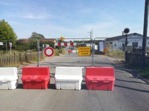 Reprise des travaux sur la ligne de train St Pol Béthune - Fermeture de passage à niveau PASSAGE 0 NIVEAU LA fERT2