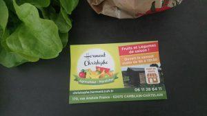 """Nos commerces: """"la ferme de Jules et Victor"""" ferme"""