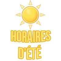 Horaires d'été à la mairie du 6 juillet au 28 août 2020 horaires d ete