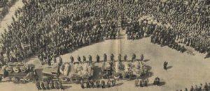 Hommage à Gustave Pauwels, mineur camblinois décédé lors de la catastrophe de la Clarence presse3