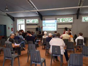 Retour en image sur la réunion travaux rue Jules Guesdes w r J Guedes 1