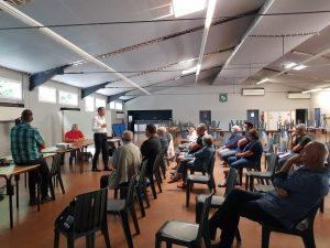 Retour en image sur la réunion travaux rue Jules Guesdes w r J Guedes 2
