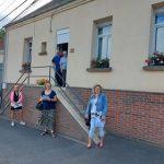 Jury du concours des maisons fleuries