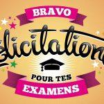 Félicitations aux lauréats