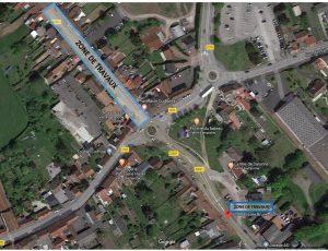 Chaussée Brunehaut: grosses difficultés de circulation à prévoir dès le 20 août Travaux chaussee brunehaut 1