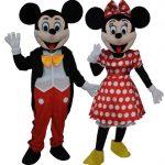 Venez rencontrer Minnie, Mickey, les minions et tortue Ninja