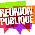 Réunion publique: rénovation du réseau d'eau potable, Rue Jules Guesdes