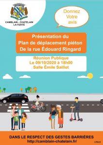 Réunion publique sur la rue Ringard, vendredi 9 octobre 2020 Reunion publique rue edouard ringard