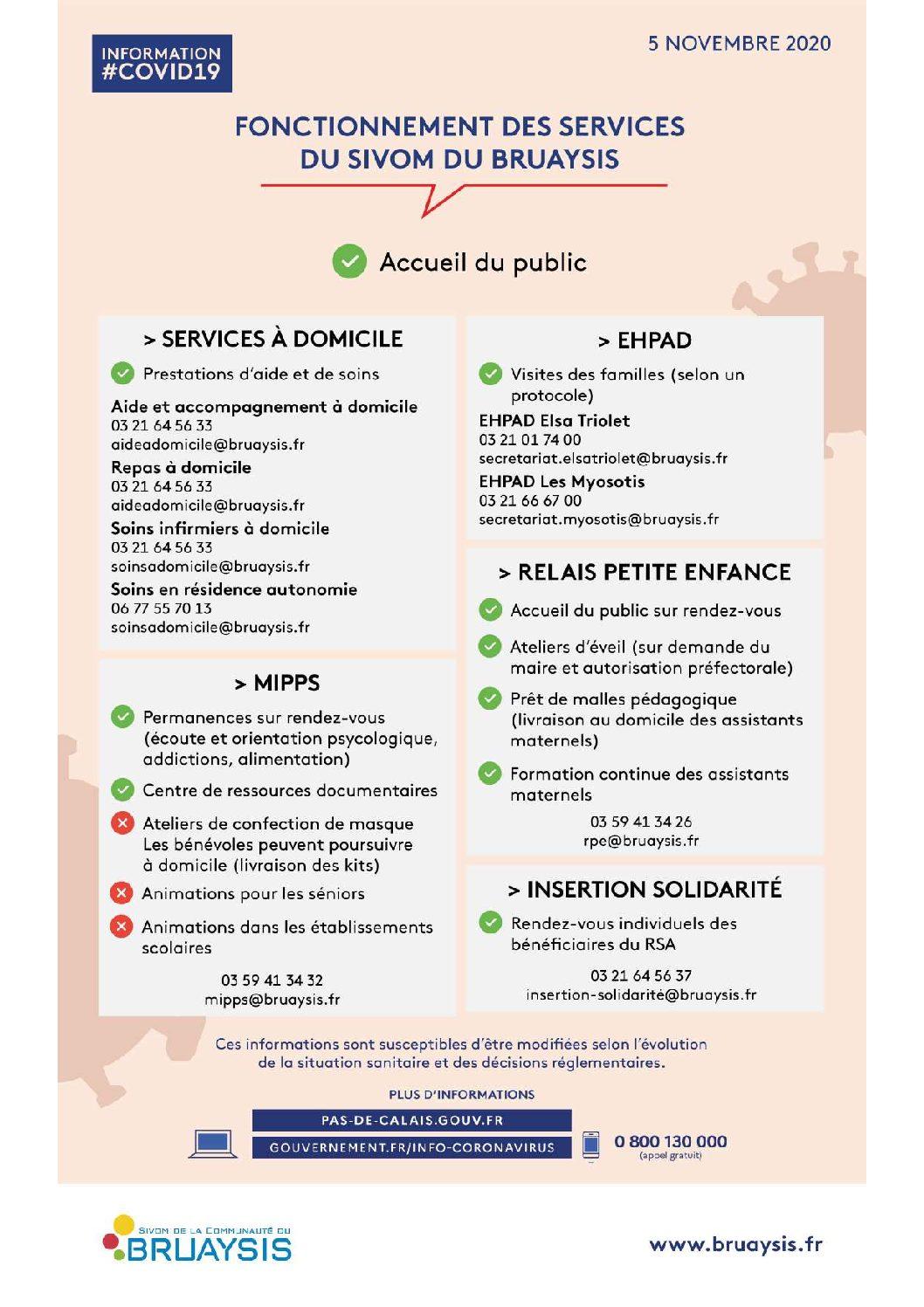 Continuité de service pour le SIVOM du Bruaysis
