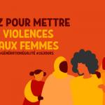 Le 25 novembre, dites non aux violences faites aux femmes