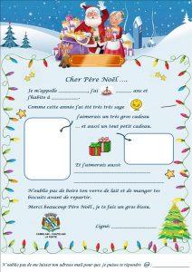La magie de Noël dans notre village Ma lettre au P  re No  l