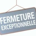 Le Service Administratif sera fermé exceptionnellement ce MARDI 19 JANVIER de 14h00 à 16h00
