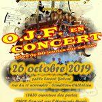 O.J.F en concert le 26 Octobre 2019