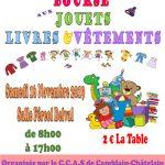 BOURSE AUX JOUETS – SAMEDI 16 NOVEMBRE – SALLE FÉREOL BELVAL