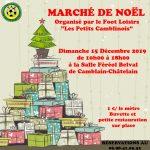 MARCHÉ DE NOEL  «Les Petits Camblinois» Dimanche 15 Décembre 2019