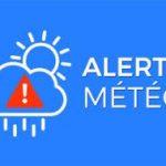 Prudence: vigilance orange orage et jaune vent violent ce jour en début d'APM
