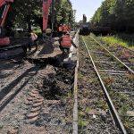 Rénovation de la voie ferrée et restrictions de circulation